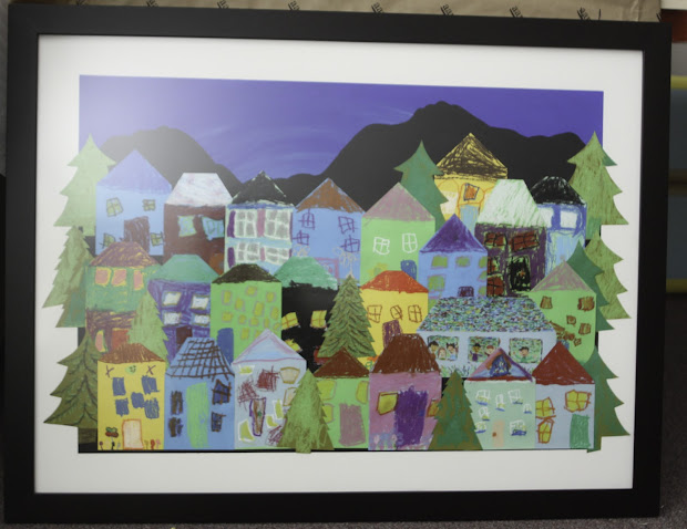 Olive And Love Neighborhood - Children' Auction Art