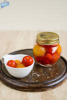Marynowane pomidory koktajlowe