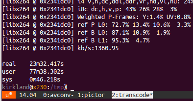 From the Canyon Edge: Scalable, Parallel Video Transcoding on Ubuntu