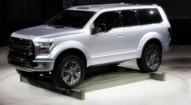 Ford Bronco 2018 Specs, Release Date, Price