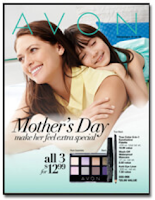 Avon Mother's Day Flyer