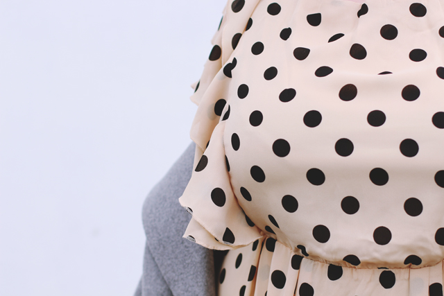 Lovedrobe spotty dress