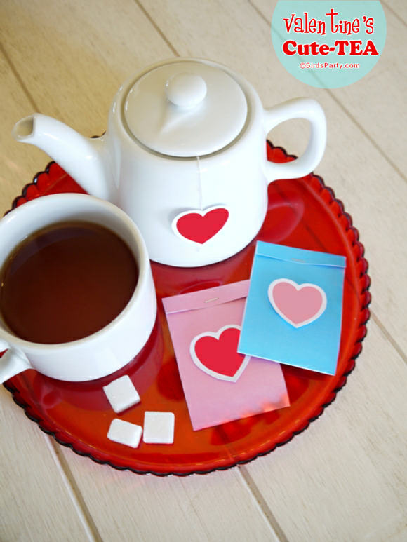 FREEBIES Printables pour La Saint Valentin | BirdsParty.fr