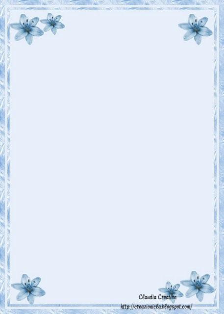 Molto il mio angolo creativo: Carta da lettere stampabile FU02