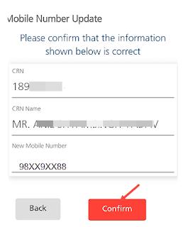 change mobile number kotak mahindra bank account online