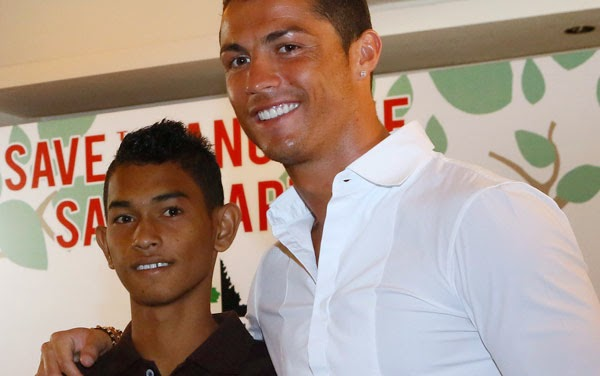 10 Tahun Lalu Martunis Korban Tsunami Aceh, Bertemu dengan Ronaldo
