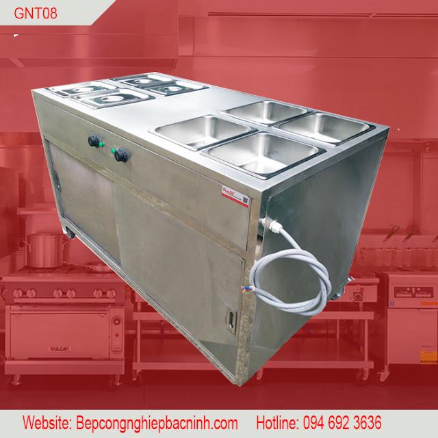 Tủ hâm nóng thức ăn cao cấp GNT08