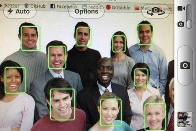 Funny Photo Black Face Recognition Fail Joke Picture
