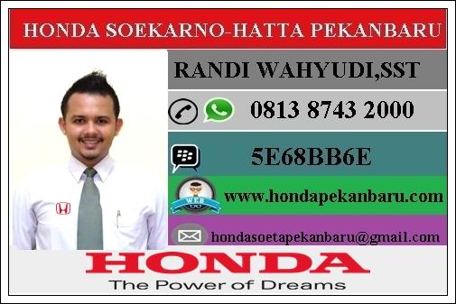 Paket Kredit Honda Jazz Pekanbaru Riau Januari 2017