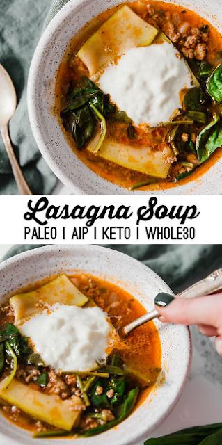 paleo lasagna soup (aip, whole30, keto)