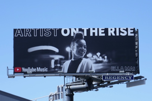 Artist on rise Ella Mai YouTube Music billboard