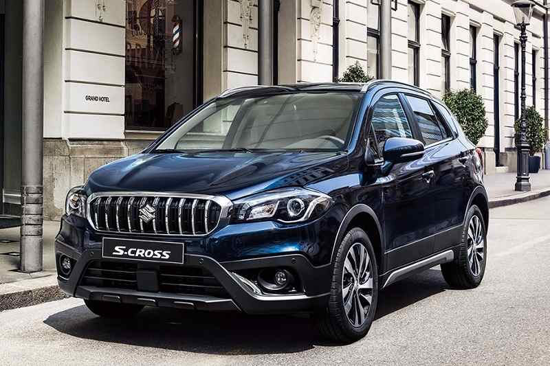 Suzuki Motor Has Launched The 2017 Sx4 S Cross In An Facelifted Model Is Priced From 20 62 800 Yen