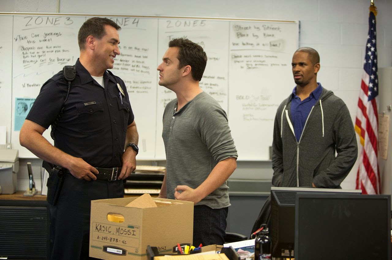 lets be cops rob riggle jake johnson damon wayans jr