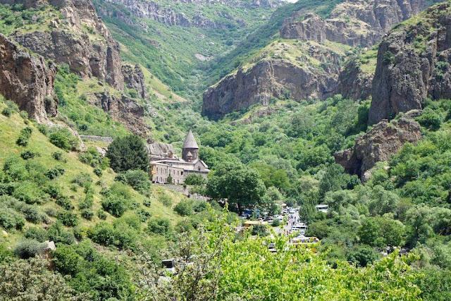 enclave monasterio geghard