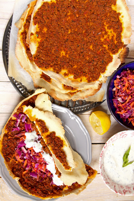 Lahmacun - turecka pizza