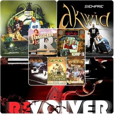 la novela, proyecto akwid, e.s.l,siempre, revolver, los aguacates de jiquilpan,kompa,