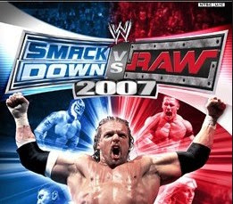 WWE Smackdown Vs Raw 2007 PPSSPP  Iso
