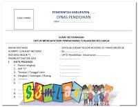Format SKUMPTK 2016 (Surat Ketengan Untuk Mendapatkan Pembayaran Tunjangan Keluarga)