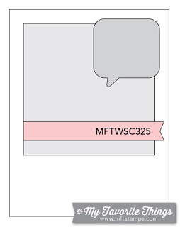MFT Sketch Challenge 325 #mftstamps