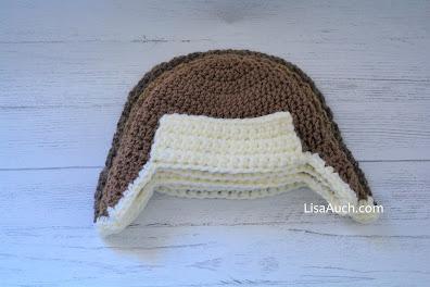 crochet earflap hat pattern- free crochet baby pattern