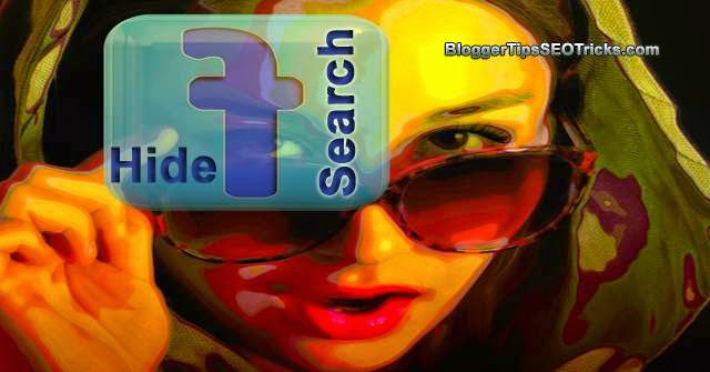 Hide/Delete your Facebook Search History on Desktop