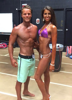 couple, fit, healthy, strong, competition, bikini, physique, competitor, results, nanbf, st louis, midwest