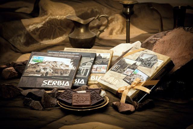 Čokolada sa motivima iz Srbje
