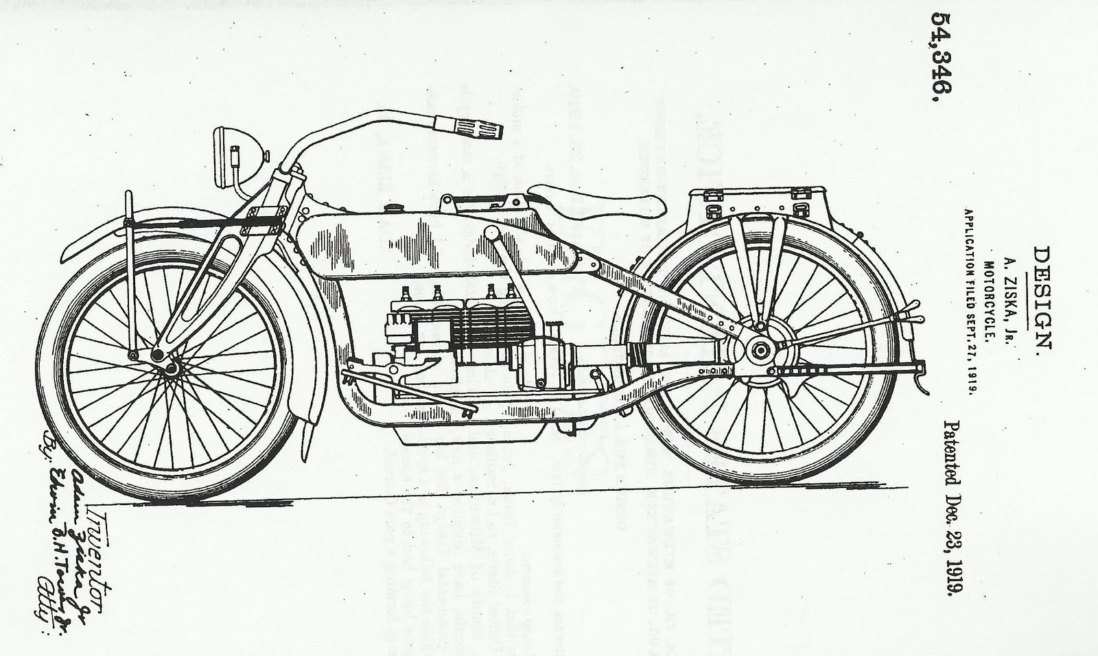 Riding internal combustion - 2 1