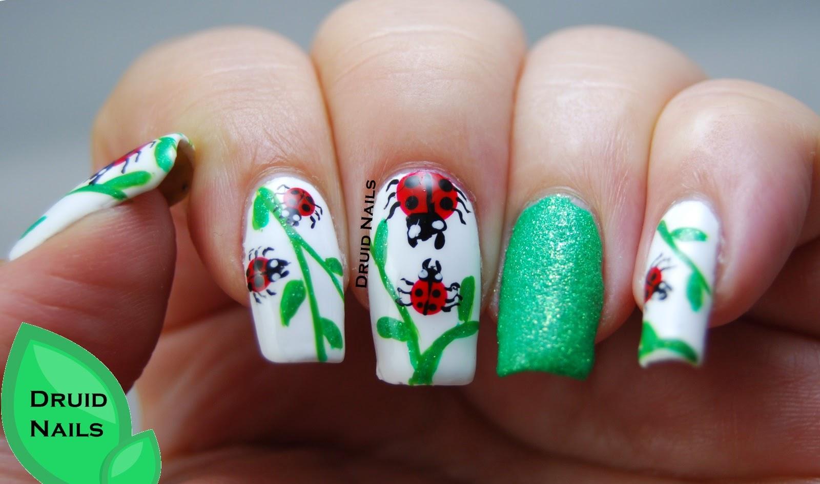 Druid Nails: Nail Art Ideas Linkup - September - Ladybugs ...
