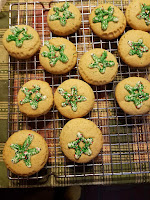 Frosted Christmas Cookies