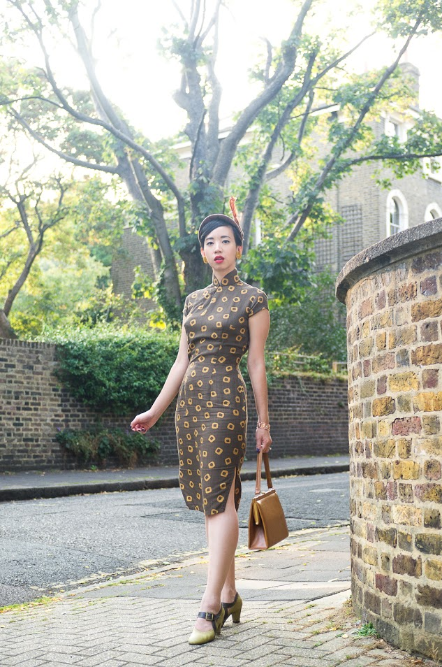 Flashback Summer: Intercultural Vintage - Questions on Qipao Cheongsam - Nora Finds