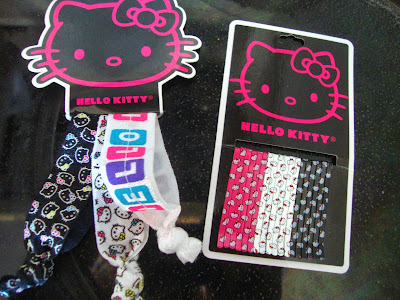 Hello Kitty Hair Bands/ Bobby Pins