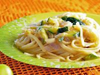 Ζυμαρικά linguini με σάλτσα κολοκυθάκια - by https://syntages-faghtwn.blogspot.gr
