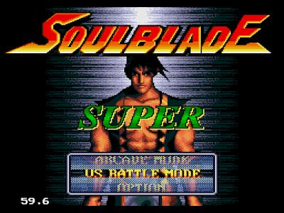 【MD】魂斗利刃(Soul Blade),經美的格鬥對戰遊戲!