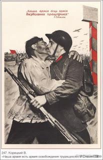 Sowjetische Plakate und Auswirkung auf Street Art