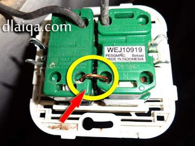 pasang kabel penghubung