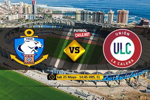 Mira Deportes Antofagasta vs Unión La Calera en vivo y online por la Primera División