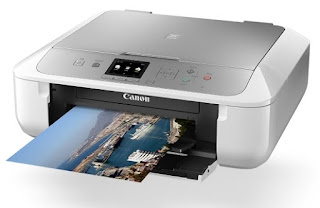 Canon PIXMA MG5765 also functions as a copier, but it lacks a tray that normally lets you drop in stacks of paper for hands-free scanning, also known as an auto-document feeder
