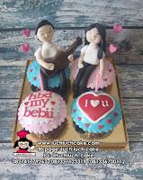 Kue Ulang Tahun Cupcake Romantis - Singing a Song
