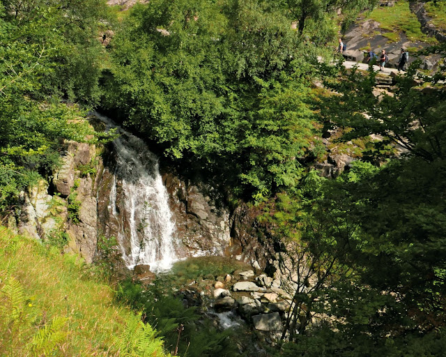 Waterfalls on the way to Coniston Copper Mines