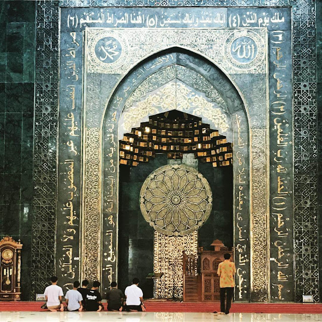 mihrab masjid al aqsha klaten