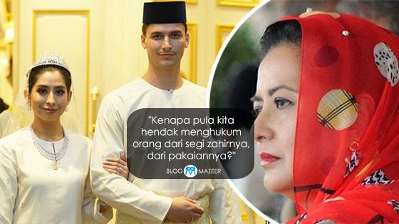 Pakaian Tunku Tun Aminah Kena Kritik, Ini Jawapan Padu Permaisuri Johor
