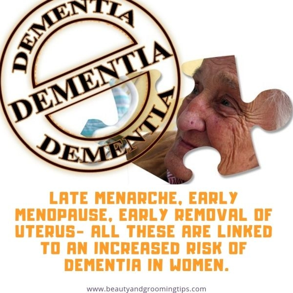 risk of dementia in women