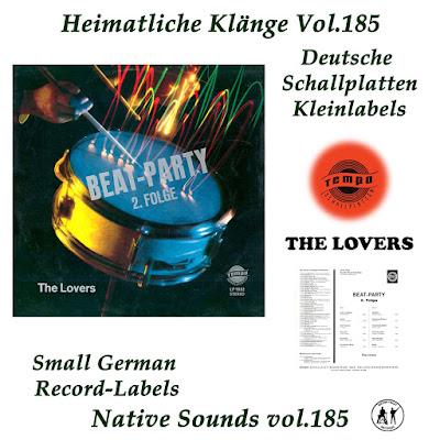The Lovers - Beat Party 2. Folge  Tempo  (1968) PLUS (Heimatliche Kaenge Vol.185)