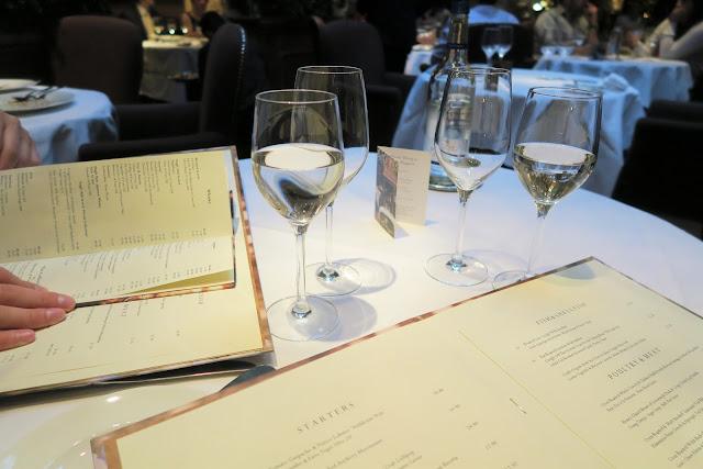 2- Clos Maggiore Restaurant Blog Post- Menu
