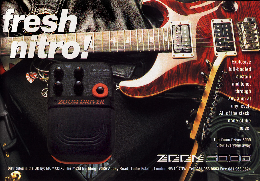 Classic Zoom Guitar and Studio Effects of the Early 1990s