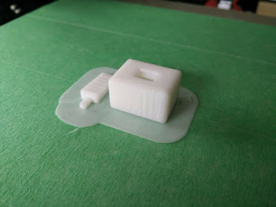 Belt clamp as printed