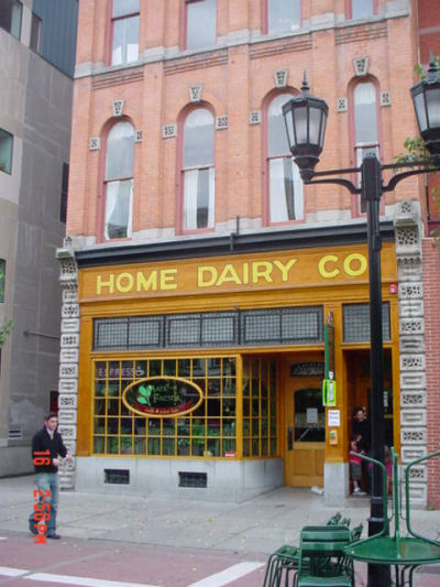Home Dairy restaurant