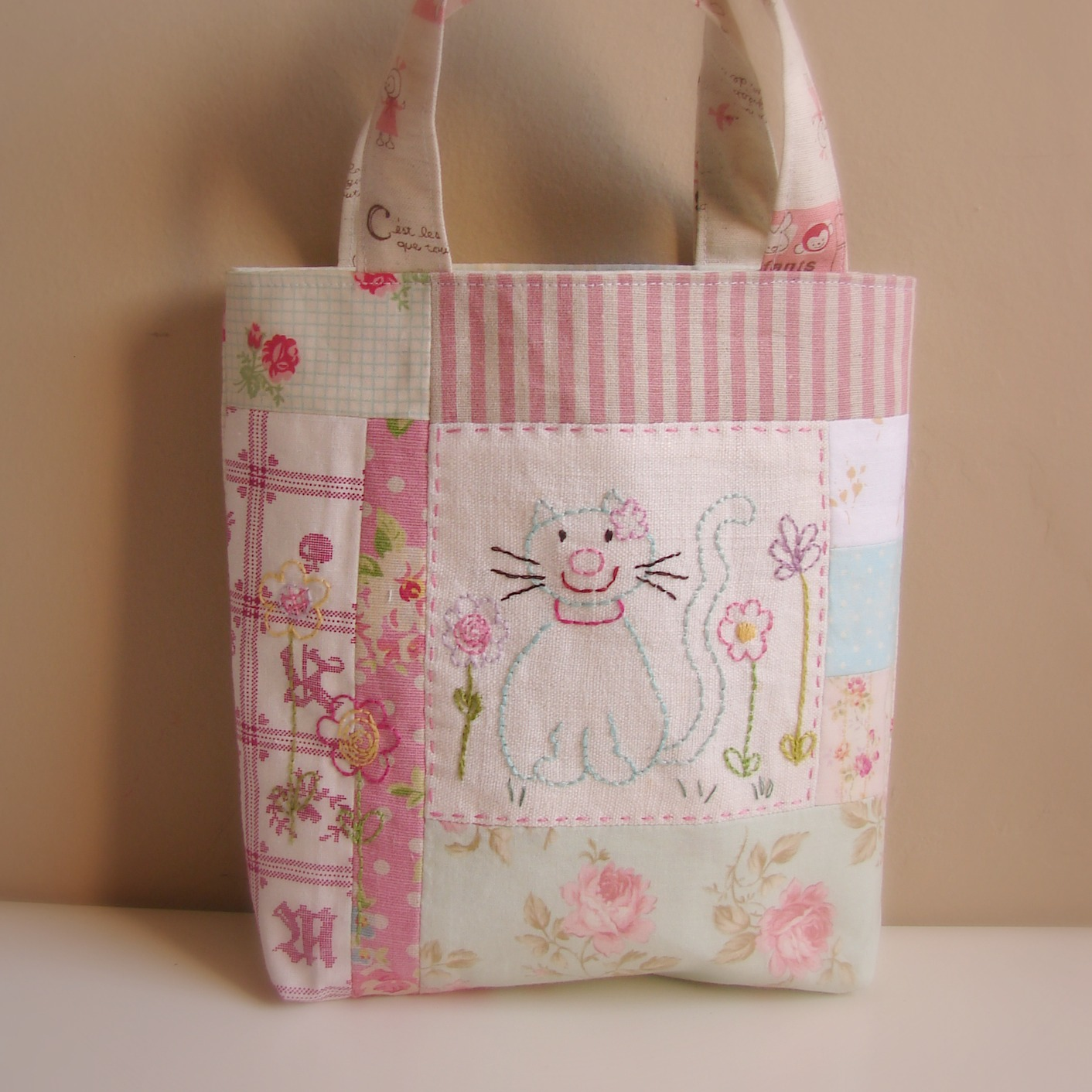 Hand Embroidered Patchwork Bags Randi Sal Finishes