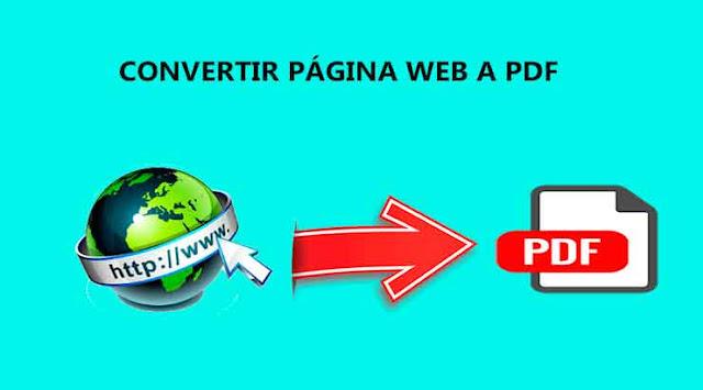 Cómo guardar una Página Web como PDF